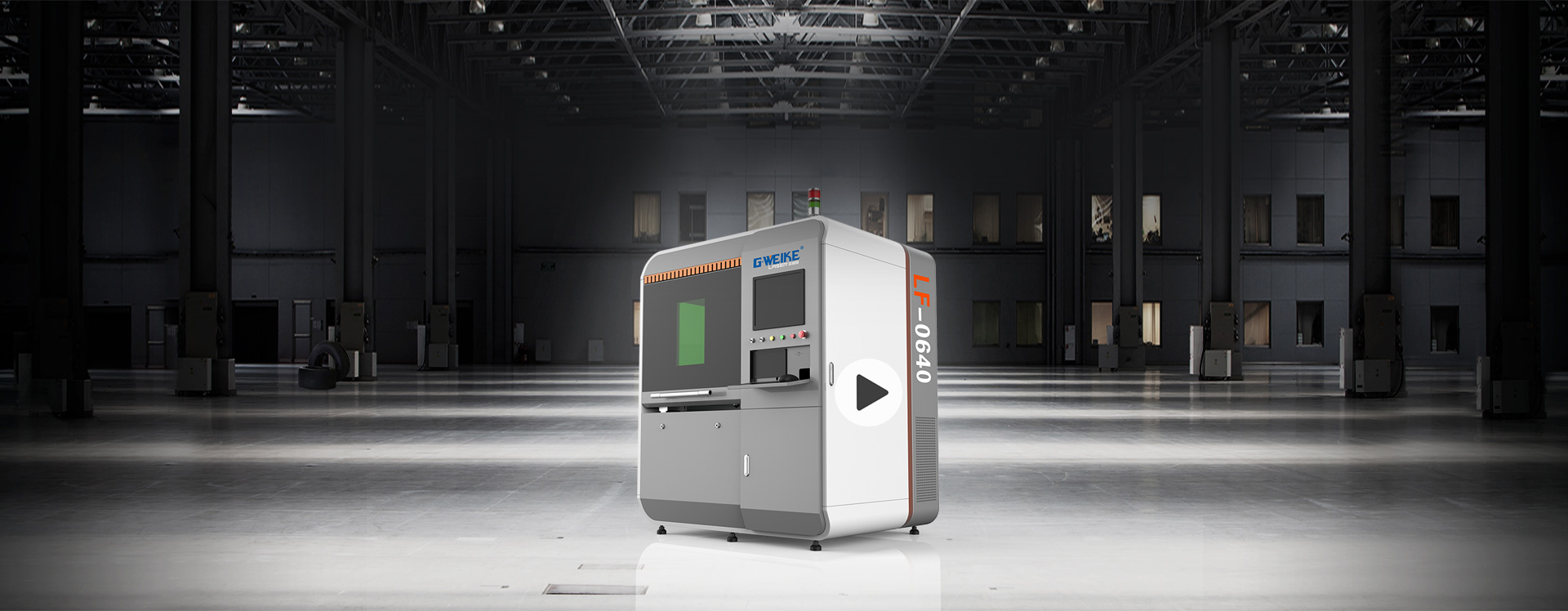 LF0640 PRECISION FIBER LASER CUTTING MACHINE