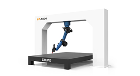 LF1800 3D robot laser cutting machine