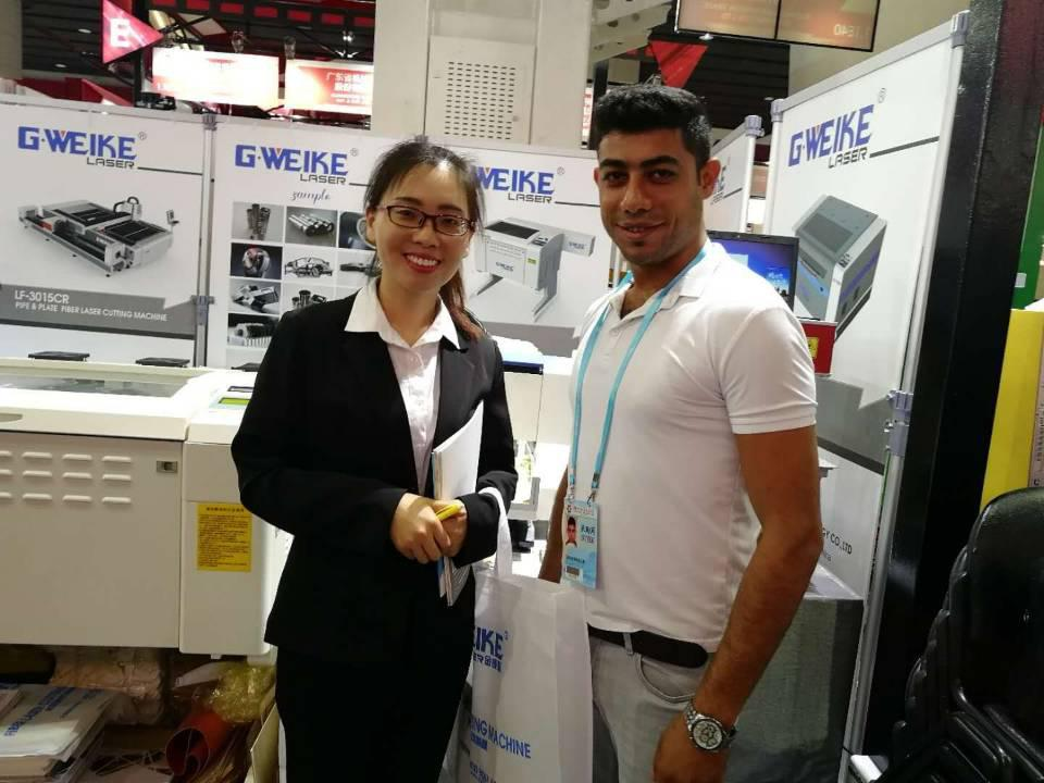 G.WEIKE successfully finished the 123rd Canton Fair