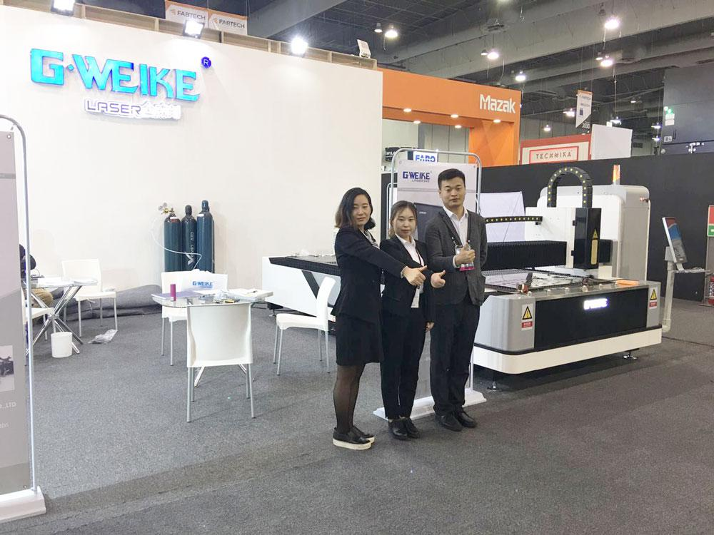 G.weike has just finished its show on Fabtech2018 Mexico